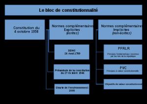 dissertation conseil constitutionnel et bloc de constitutionnalité